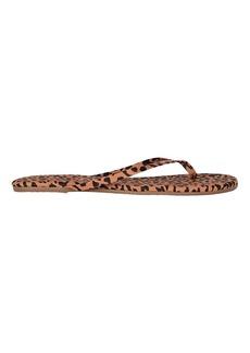 TKEES Studio Exotic Cheetah Flip-Flops