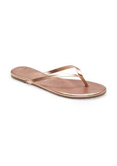 Women's Tkees Metallic Flip Flop