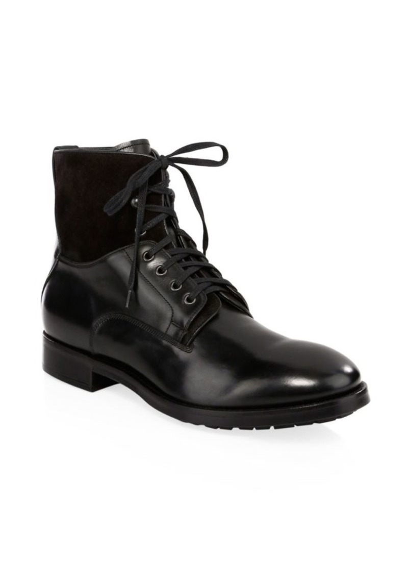 To Boot Abbott Trapper Leather Boots