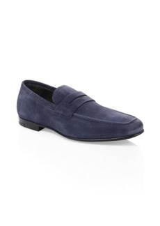 To Boot Alek Suede Penny Loafers