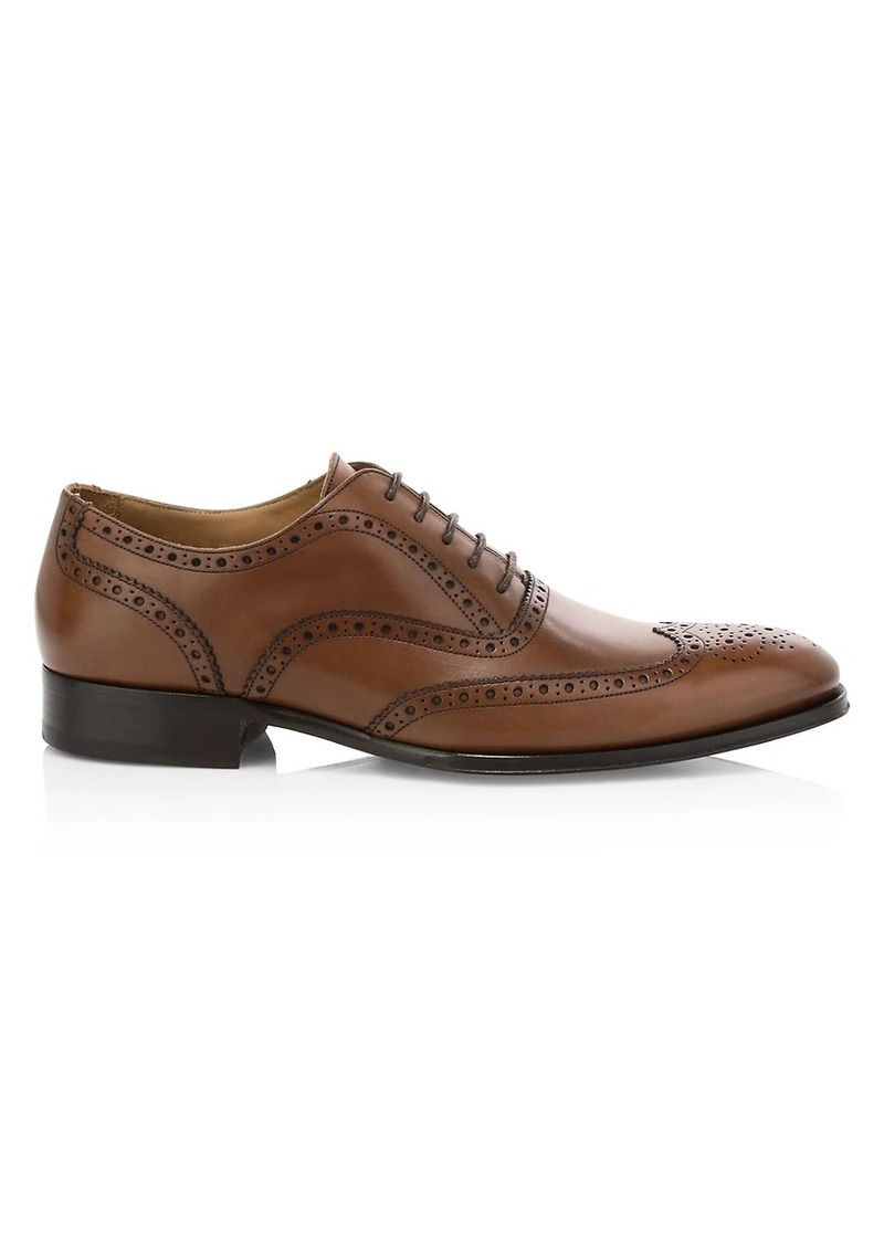 To Boot Avellino Brogue-Trim Leather Oxfords
