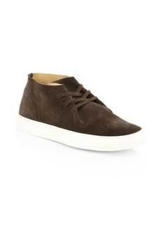 To Boot Barcelona Lace-Up Suede Ankle Sneakers