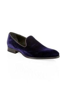 To Boot Bolton Velvet Loafers