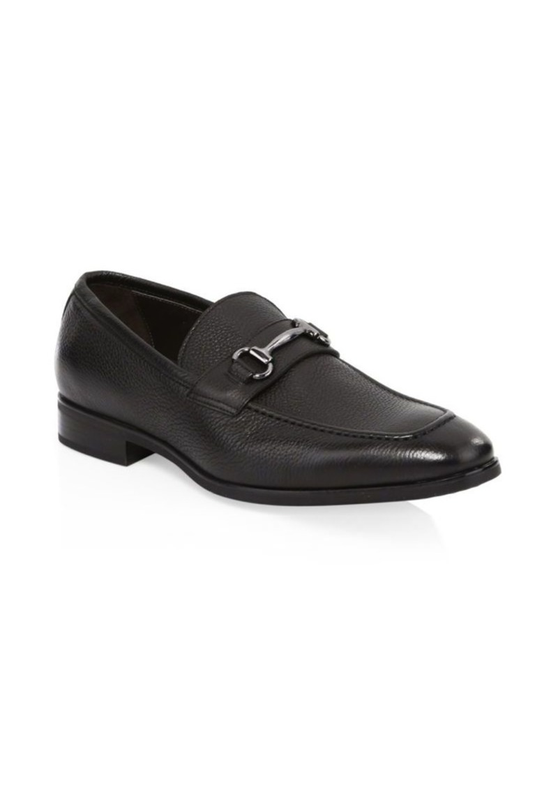To Boot Brussels Textured Bit Loafers