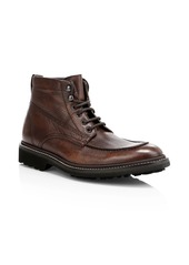 To Boot Carlton Apron Toe Leather Boots