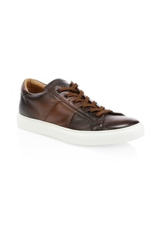 To Boot Colton Leather Sneakers