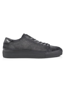 To Boot Degraw 9.5 Low-Rise Suede Sneakers