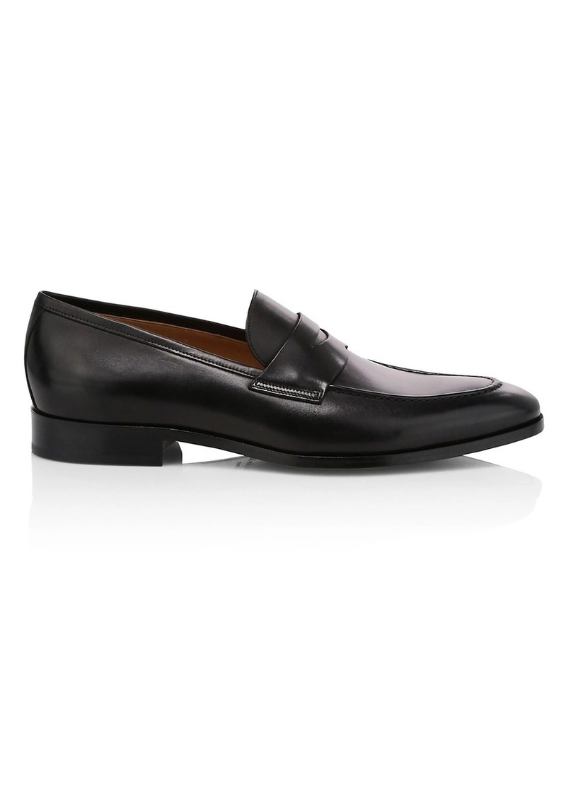 To Boot Flex Dress Tesoro Leather Penny Loafers