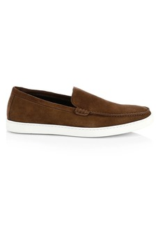 To Boot Jet Suede Venetian Loafers