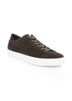 To Boot Knox Lace-Up Suede Sneakers