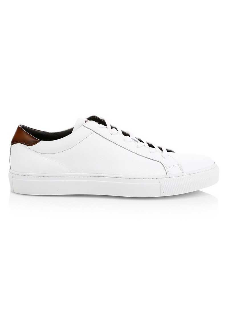 To Boot Knox Leather Sneakers