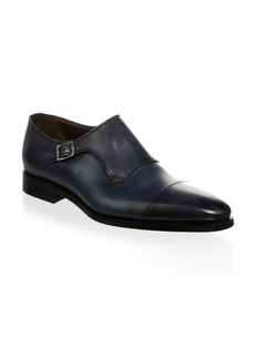 To Boot Ludlum Leather Monk Strap
