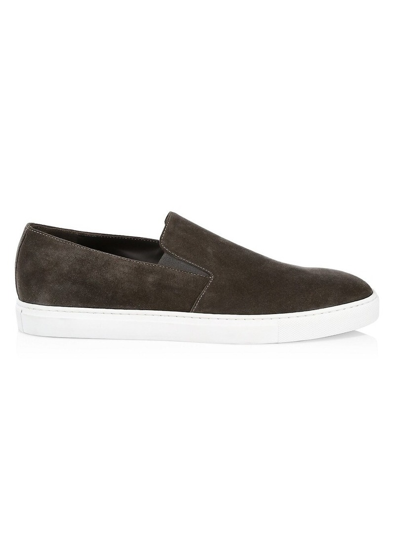 To Boot Marius Suede Slip-On Sneakers