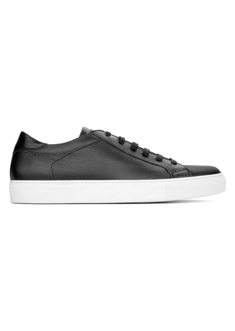To Boot Men's Castle Leather Low-Top Sneakers
