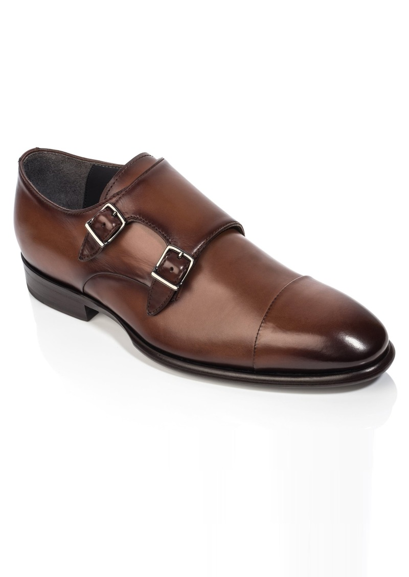 To Boot New York Capo Double Monk Strap Shoe