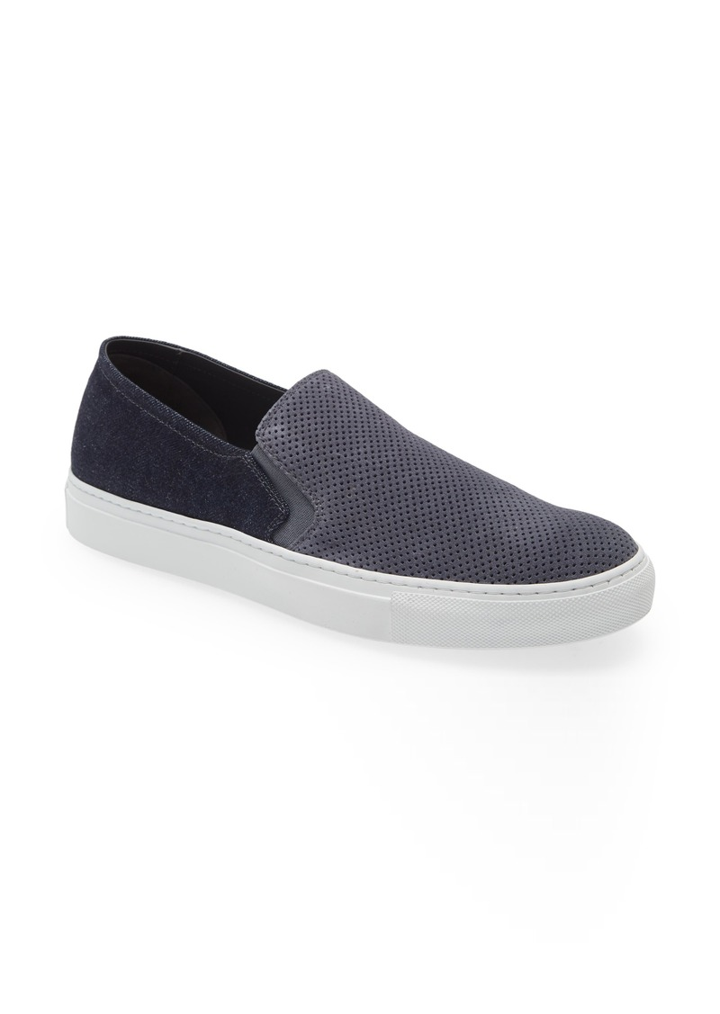 To Boot New York Nolan Perforated Slip-On Sneaker
