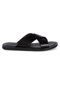 To Boot Miramore Leather Crisscross Flat Sandals