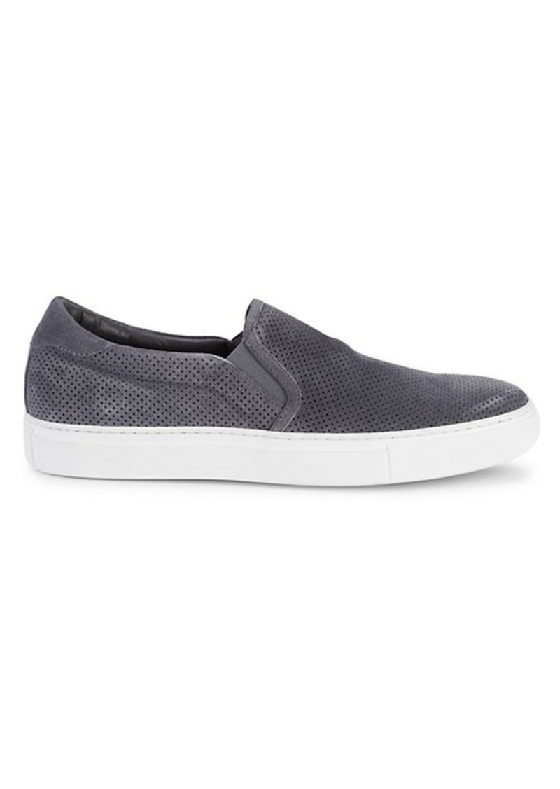 To Boot Racer Suede Slip-On Sneakers