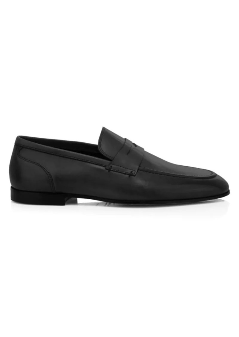 To Boot Ridley Leather Penny Loafers