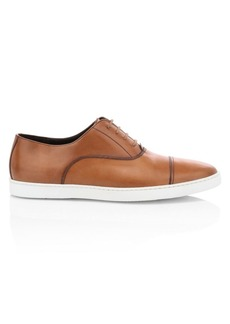 To Boot San Remo Cap-Toe Leather Sneakers