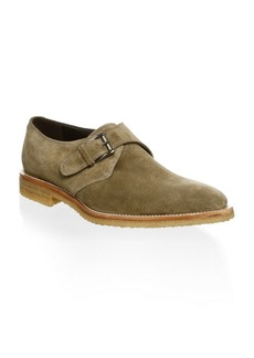 To Boot Suede Monk Strap