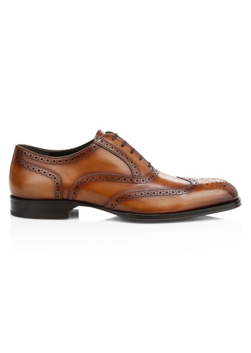 To Boot Timmons Wingtip Leather Brogues
