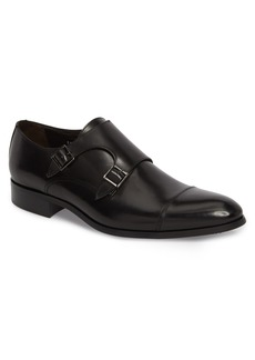 To Boot New York Bankston Cap Toe Double Strap Monk Shoe (Men)