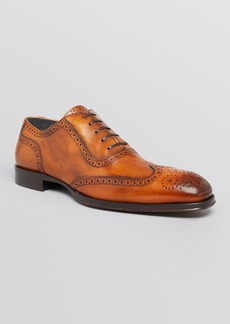To Boot New York Black Duke Wingtip Oxfords