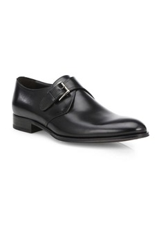 To Boot Emmett Leather Monk Strap Shoes