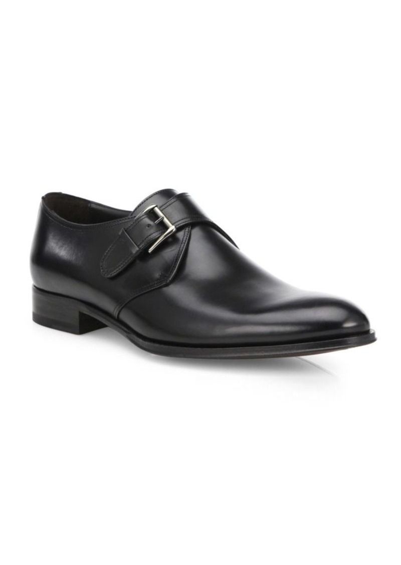 To BootEmmett Leather Monk Strap Shoes 1to7BYLg4a