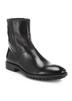 To Boot Harrison Leather Side-Zip Boots