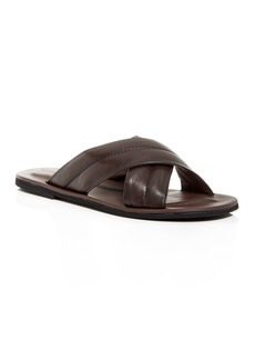 To Boot New York Men's Amico Nappa Leather Slide Sandals
