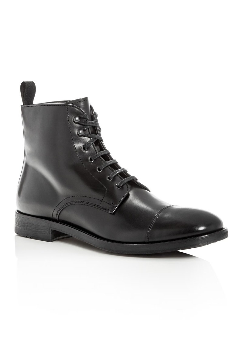 To Boot New York Men's Bondfield Leather Cap Toe Boots