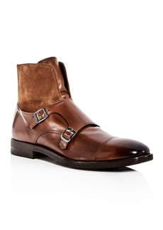To Boot New York Men's Broome Leather & Suede Monkstrap Boots
