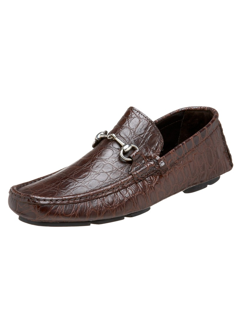 To Boot New York Men's Carter Croc Print Driving Shoe M