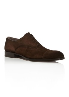 To Boot New York Men's Lavery Suede Cap-Toe Oxfords