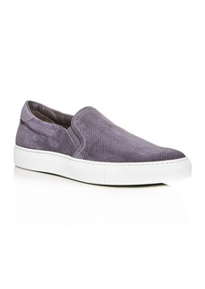 To Boot New York Men's Racer Suede Slip-On Sneakers