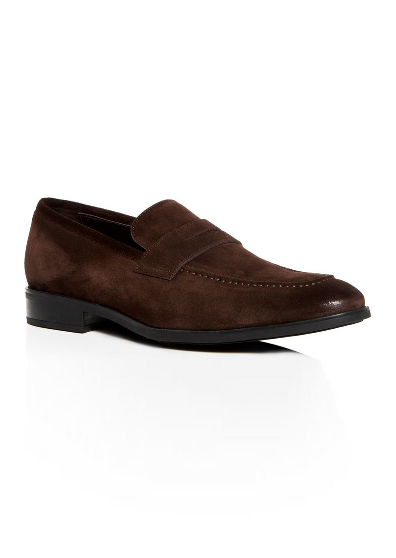 To Boot New York Men's Raleigh Suede Penny Loafers