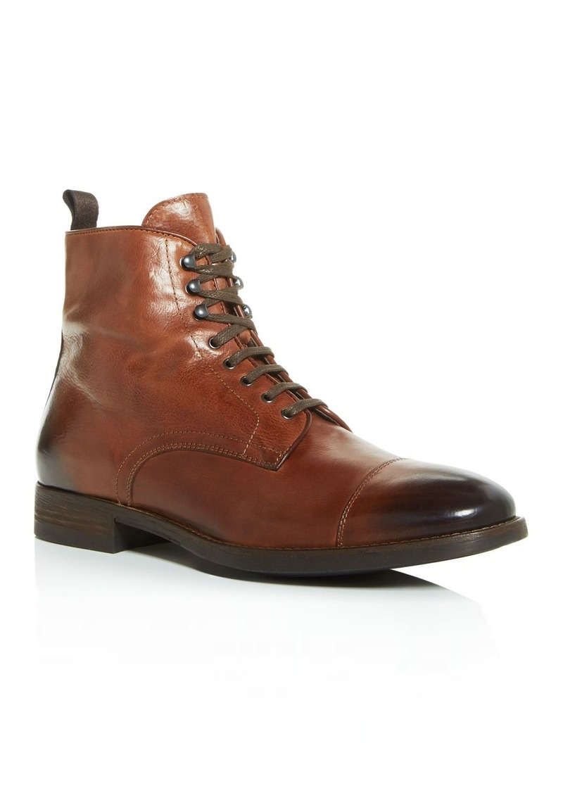 To Boot New York Men's Richmond Leather Cap-Toe Boots