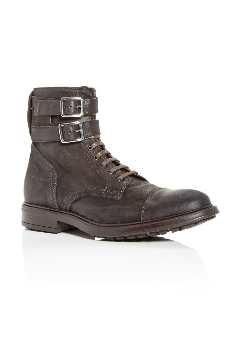 To Boot New York Men's Tempo Cap Toe Combat Boots