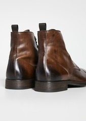 To Boot New York Richmond Cap Toe Lace Boots