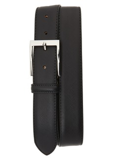 To Boot New York Saffiano Leather Belt