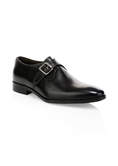 To Boot Vitello Leather Monk Shoes