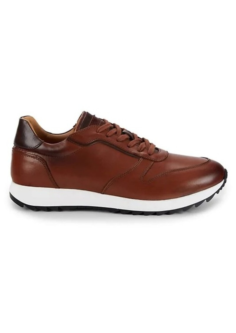 To Boot Zander Lace-Up Suede Sneakers