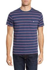 Todd Snyder Stripe Button Pocket T-Shirt