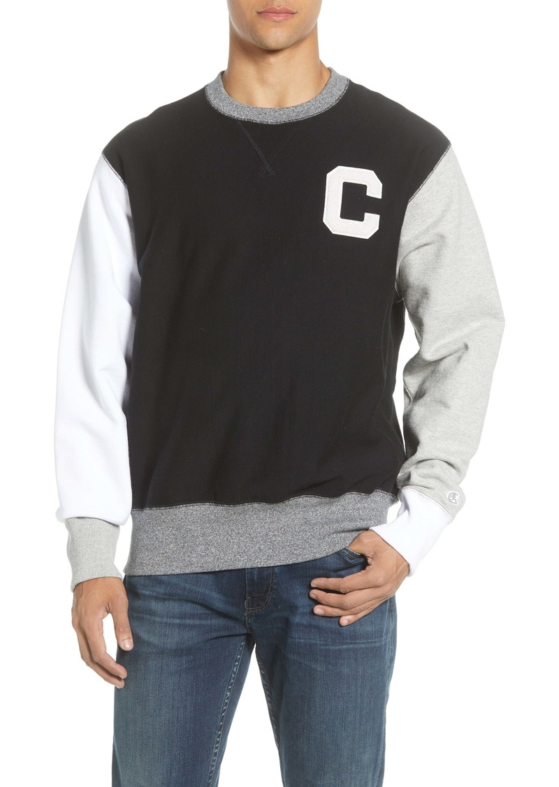 Todd Snyder + Champion Colorblock Crewneck Sweatshirt