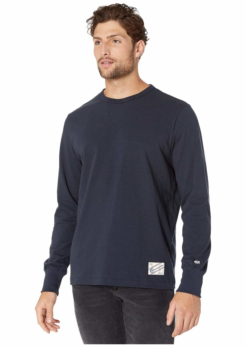 Todd Snyder + Champion Long Sleeve Jock Tag Basic Tee