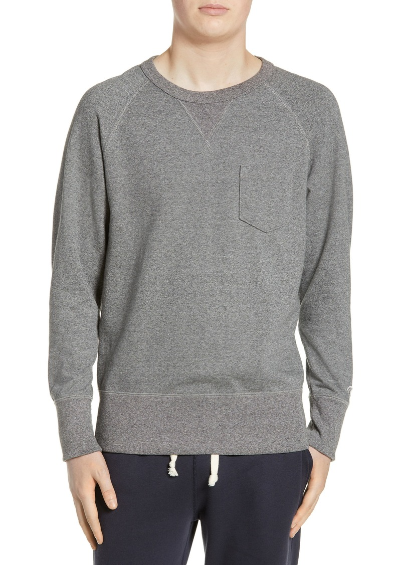 Todd Snyder + Champion Classic Pocket Sweatshirt