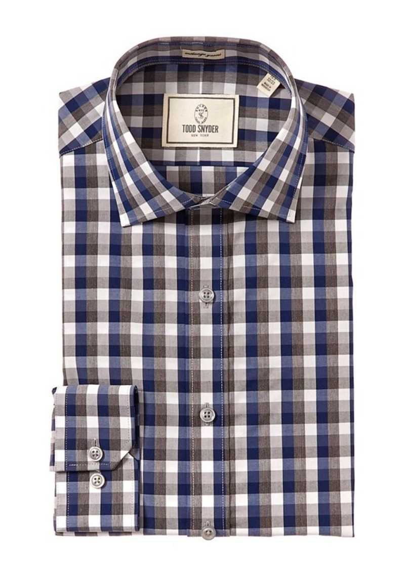 TODD SNYDER Todd Snyder Slim Fit Dress Shirt