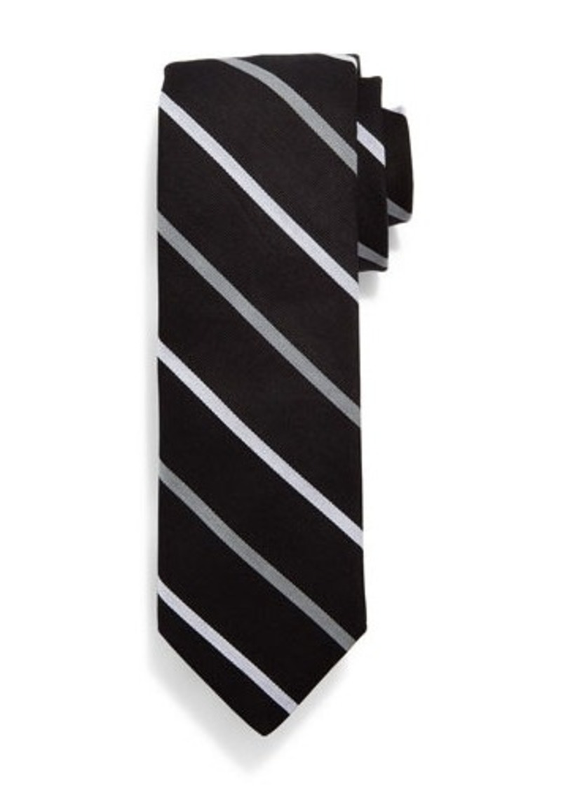 Todd Snyder Two-Bar Striped Cotton Tie